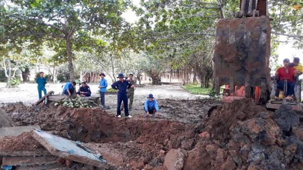 Kiên Giang: Cất bốc hài cốt liệt sĩ tại huyện U Minh Thượng